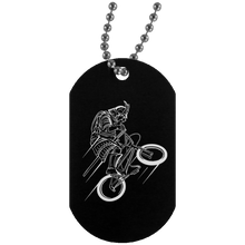 Load image into Gallery viewer, Samurai Silver Dog Tag