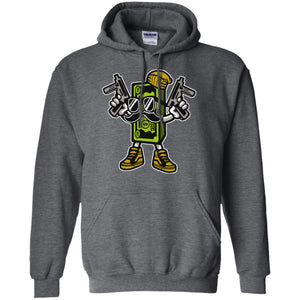 Cash Rules Pullover Hoodie 8 oz.