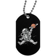 Load image into Gallery viewer, Space Jump Silver Dog Tag