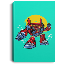 Load image into Gallery viewer, Boombox Robot Portrait Canvas .75in Frame