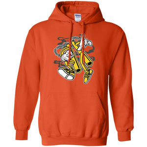 Double Stick Man Pullover Hoodie 8 oz.