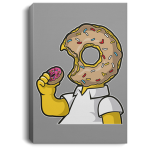 I Like Donut Portrait Canvas .75in Frame