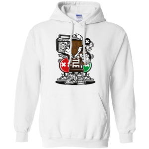 Chocolate Squad Pullover Hoodie 8 oz.