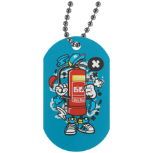 Load image into Gallery viewer, Fire Extinguisher Silver Dog Tag