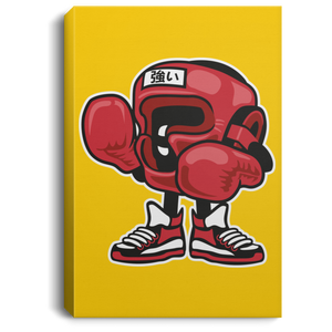 Boxing Champion Portrait Canvas .75in Frame