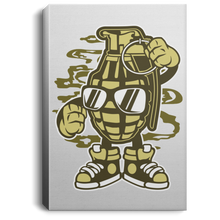 Load image into Gallery viewer, Grenade Portrait Canvas .75in Frame