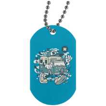 Load image into Gallery viewer, Camper Van Silver Dog Tag