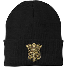 Load image into Gallery viewer, Steampunk Ribcage Knit Cap