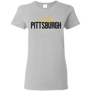 Pittsburgh Ladies' 5.3 oz. T-Shirt