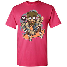 Load image into Gallery viewer, Bearded Skater T-Shirt