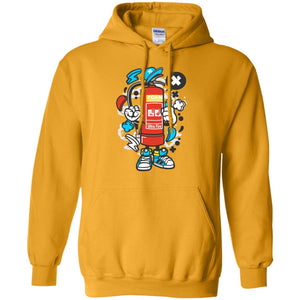 Fire Extinguisher Pullover Hoodie 8 oz.