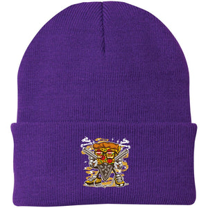 Pizza Gangster Knit Cap