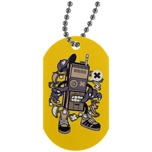 Load image into Gallery viewer, Dead Walkie Silver Dog Tag
