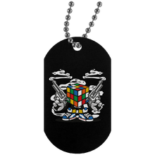 Load image into Gallery viewer, Rubix Killer Silver Dog Tag