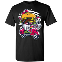 Load image into Gallery viewer, Burger Scooter T-Shirt