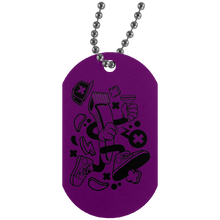Load image into Gallery viewer, Hair Clipper Silver Dog Tag