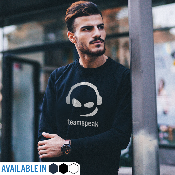 TeamSpeak Logo - Long Sleeve Unisex T-Shirt