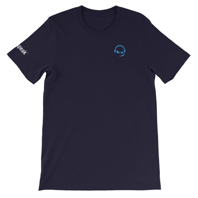 TeamSpeak Crest - Short-Sleeve Unisex T-Shirt