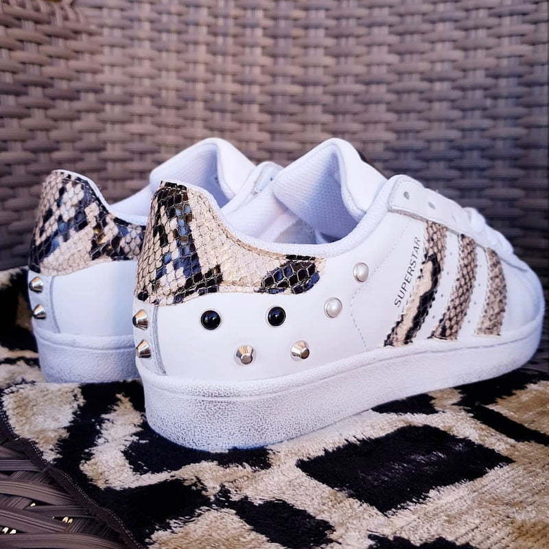 Adidas Superstar Pitone & Borchie