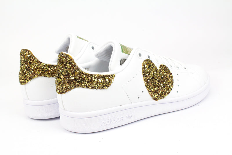 Adidas Stan Smith Cuore Glitter Gold