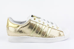 Adidas Superstar Total Gold Pitone Laminato