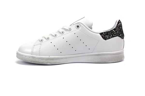Adidas Stan Smith Stella Glitter Black Silver