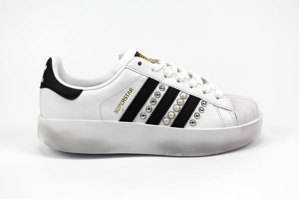 outlet store 8c75b 9e4c8 Adidas Superstar Bold Personalizzate Borchie   Perle ...