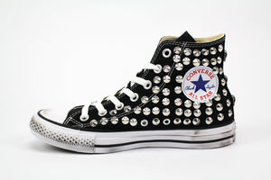 Converse All Star personalizzate Total Borchie