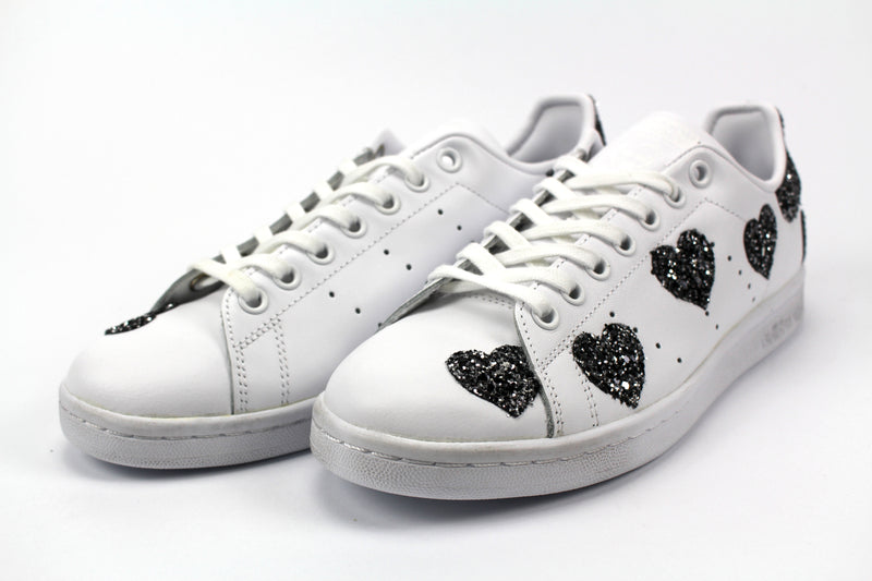 Adidas Stan Smith Cuori Black Silver