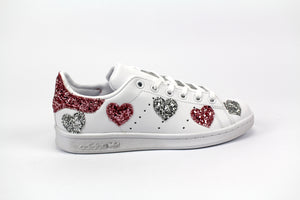 Adidas Stan Smith Cuori Multi Glitter
