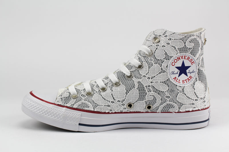 Converse All Star White Pizzo