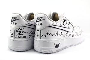 Nike Air Force 1 '07 Personalizzate Eye & Sword