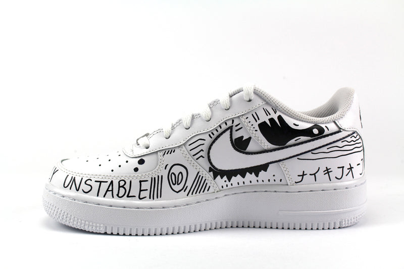 Nike Air Force 1 '07 Eye & Sword Personalizzate