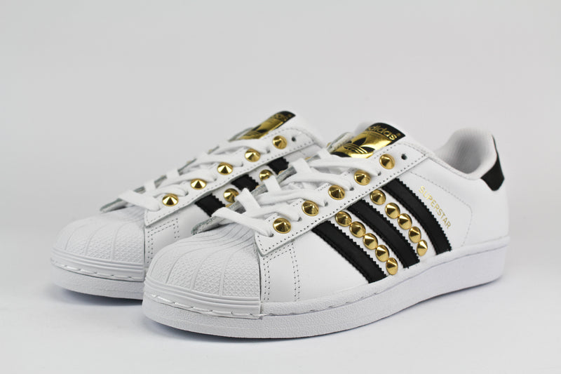 Adidas Superstar Classic Black & Borchie Oro