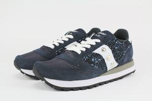 Saucony Jazz Navy & Glitter Personalizzate