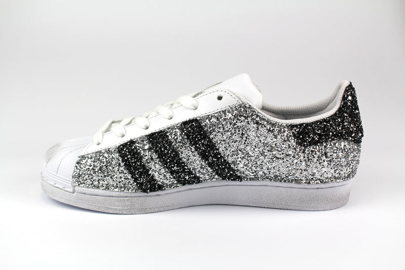 Adidas Superstar Personalizzate Total Glitter