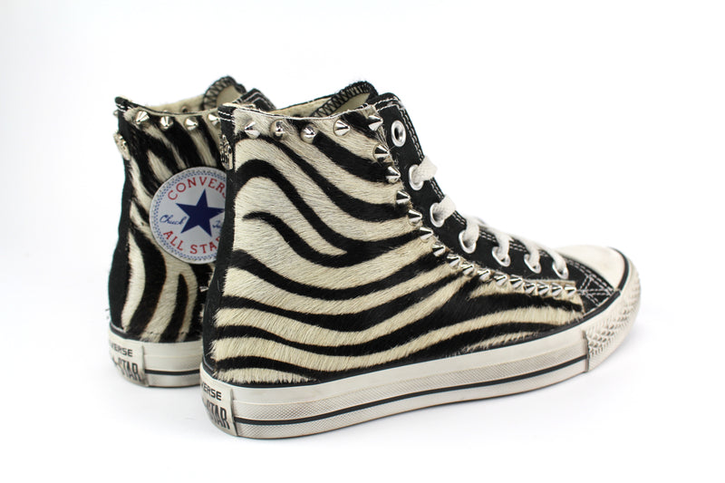 Converse All Star Cavallino Zebrato & Borchie