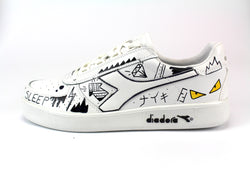 Diadora B.Elite Personalizzate Yellow Eyes
