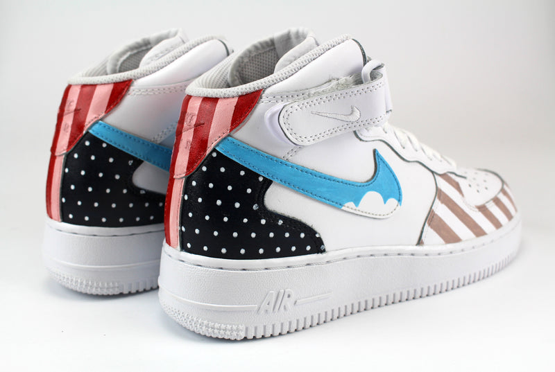 Nike Air Force 1 Mid Dots & Stripes