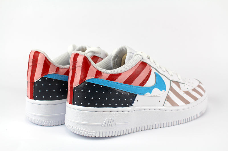 Nike Air Force 1  '07 Dots & Stripes