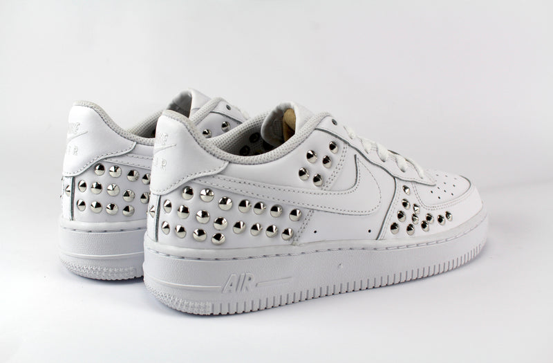 air force 1 nere con borchie