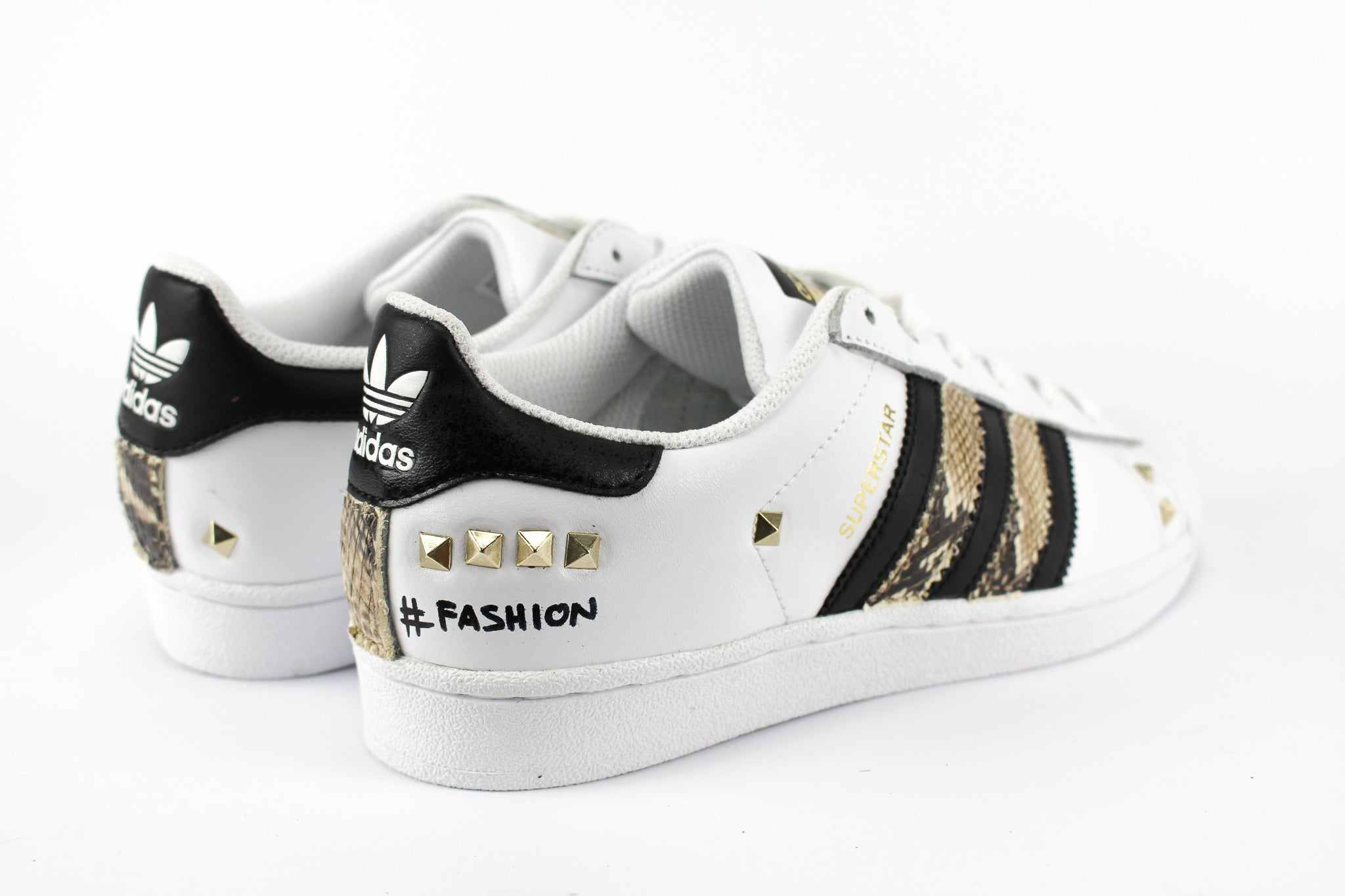 Adidas Superstar Pitonate Borchie & Graffiti