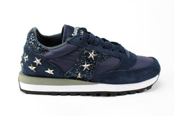 Saucony Jazz Navy Personalizzate Glitter & Stelle