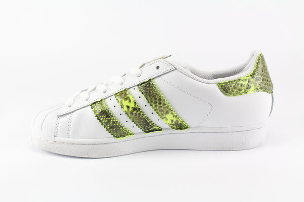 Adidas Superstar Pitone Yellow Fluo