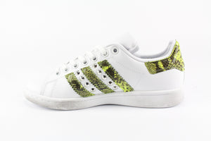 Adidas Stan Smith Pitone Yellow Fluo & Borchie