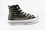 Converse All Star Platform Total Borchie Tronco Cono