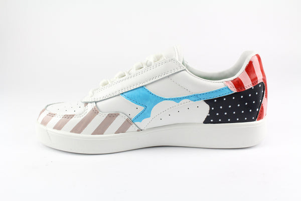 Diadora B.Elite Personalizzate Dots & Stripes