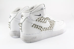 Nike Air Force 1 '07 Personalizzate Mid Borchie