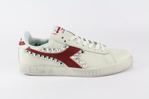 Diadora Game L Low Waxed Red & Borchie