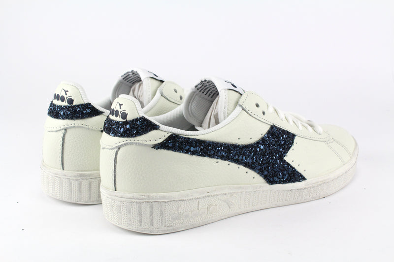 Diadora Game L Low Waxed Navy Glitter